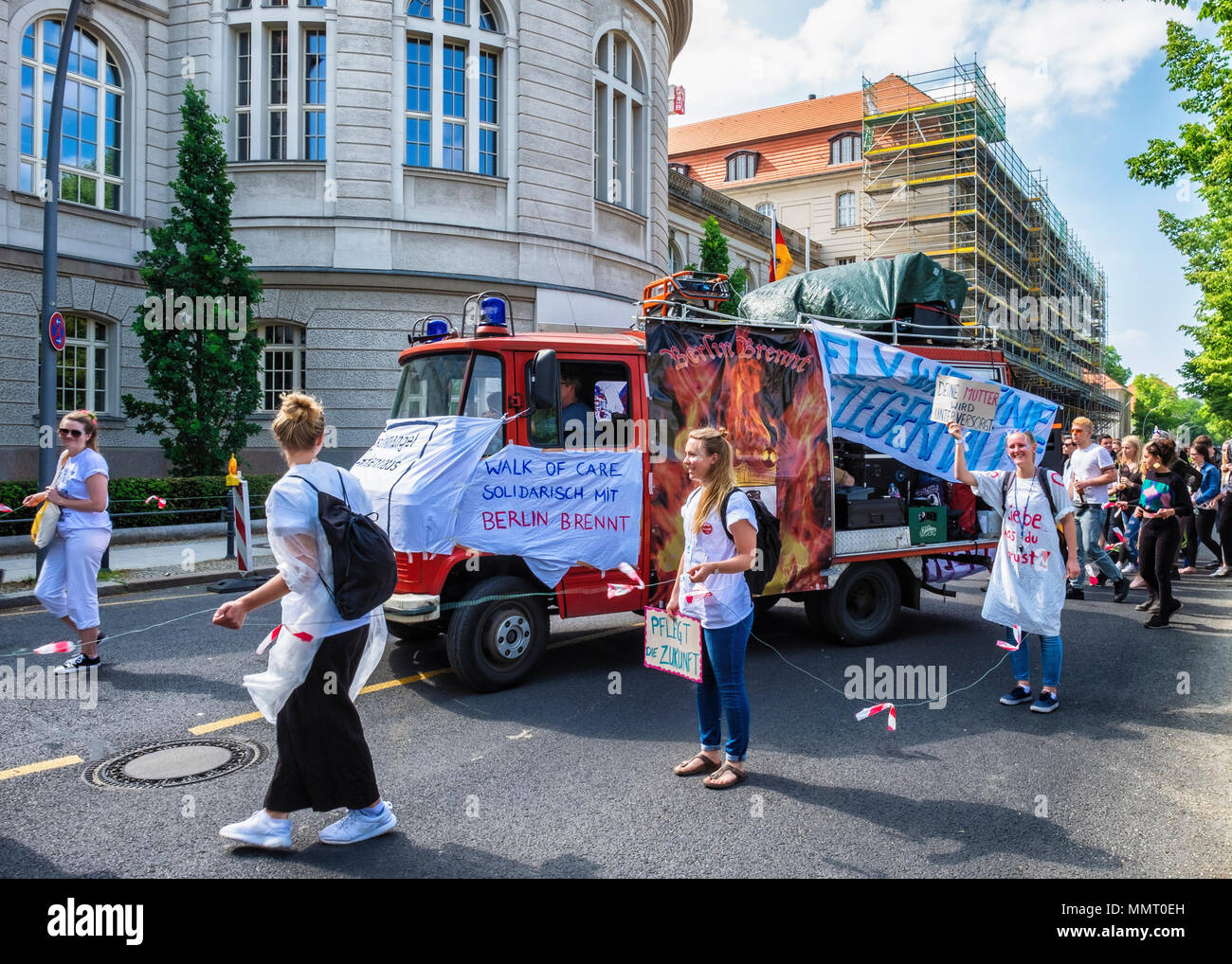Germany, Berlin, Mitte, 12th May 2018  'Walk for Care