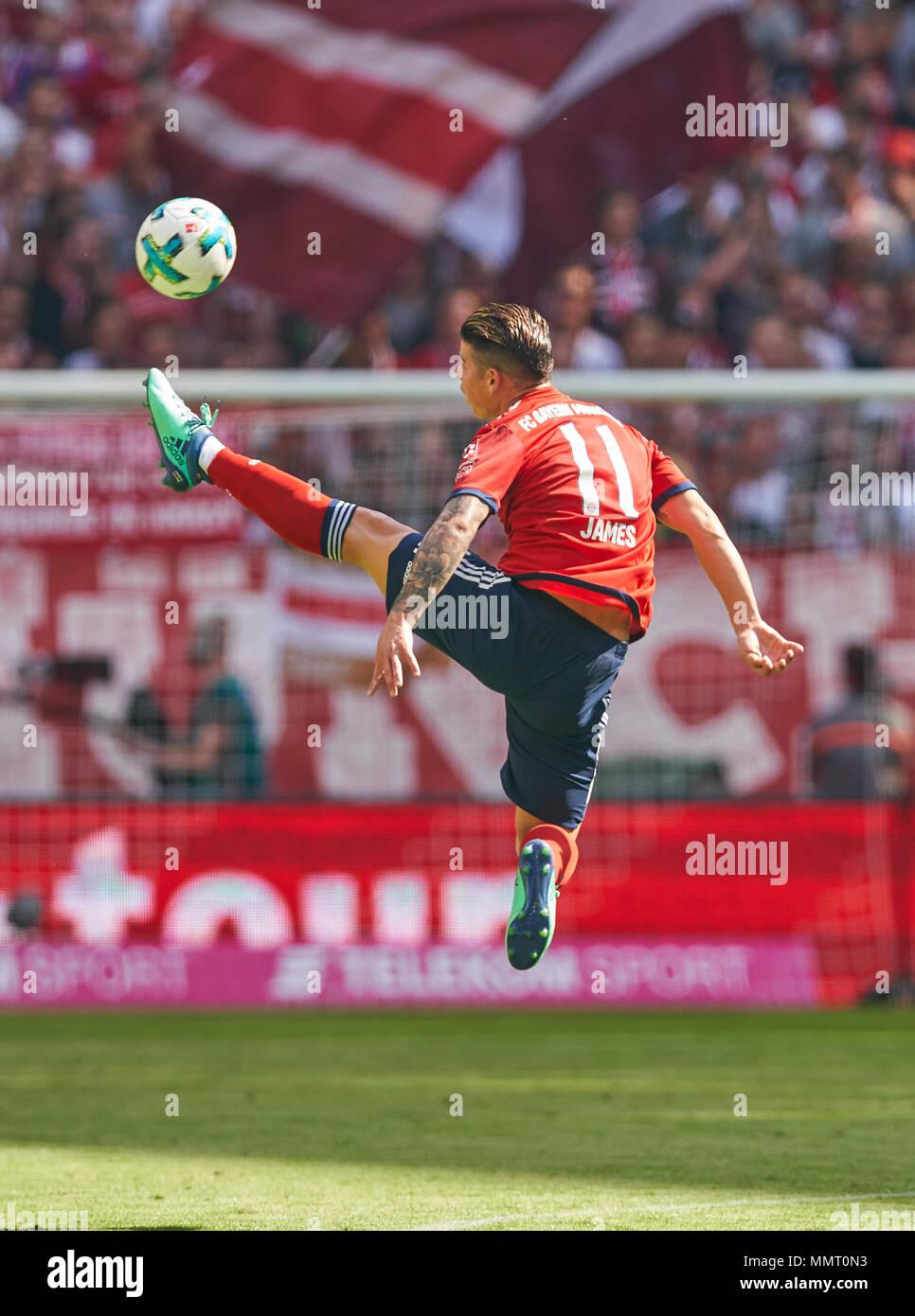 best sneakers 0013e fd2b3 Munich, Germany.. 12th May, 2018. FC Bayern Munich Soccer ...