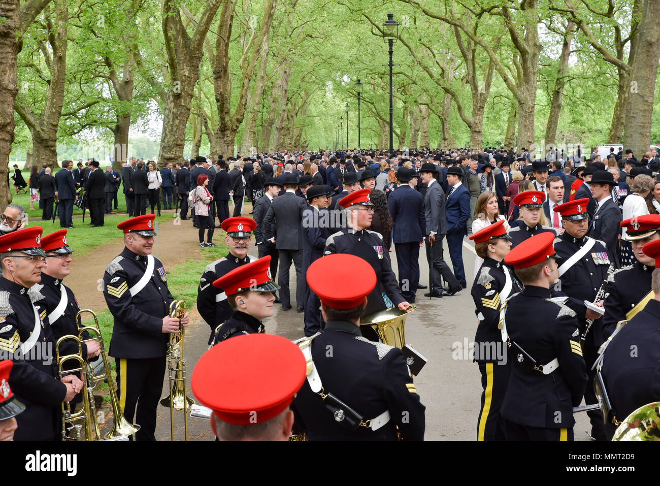 Hyde Park, London, UK. 13th May 2018. The Combined Cavalry Old Comrades Association 94th Annual Parade. Credit: Matthew Chattle/Alamy Live News Stock Photo