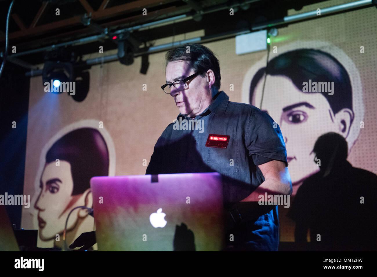 wolfgang flur former member of german electronic band kraftwerk performs a