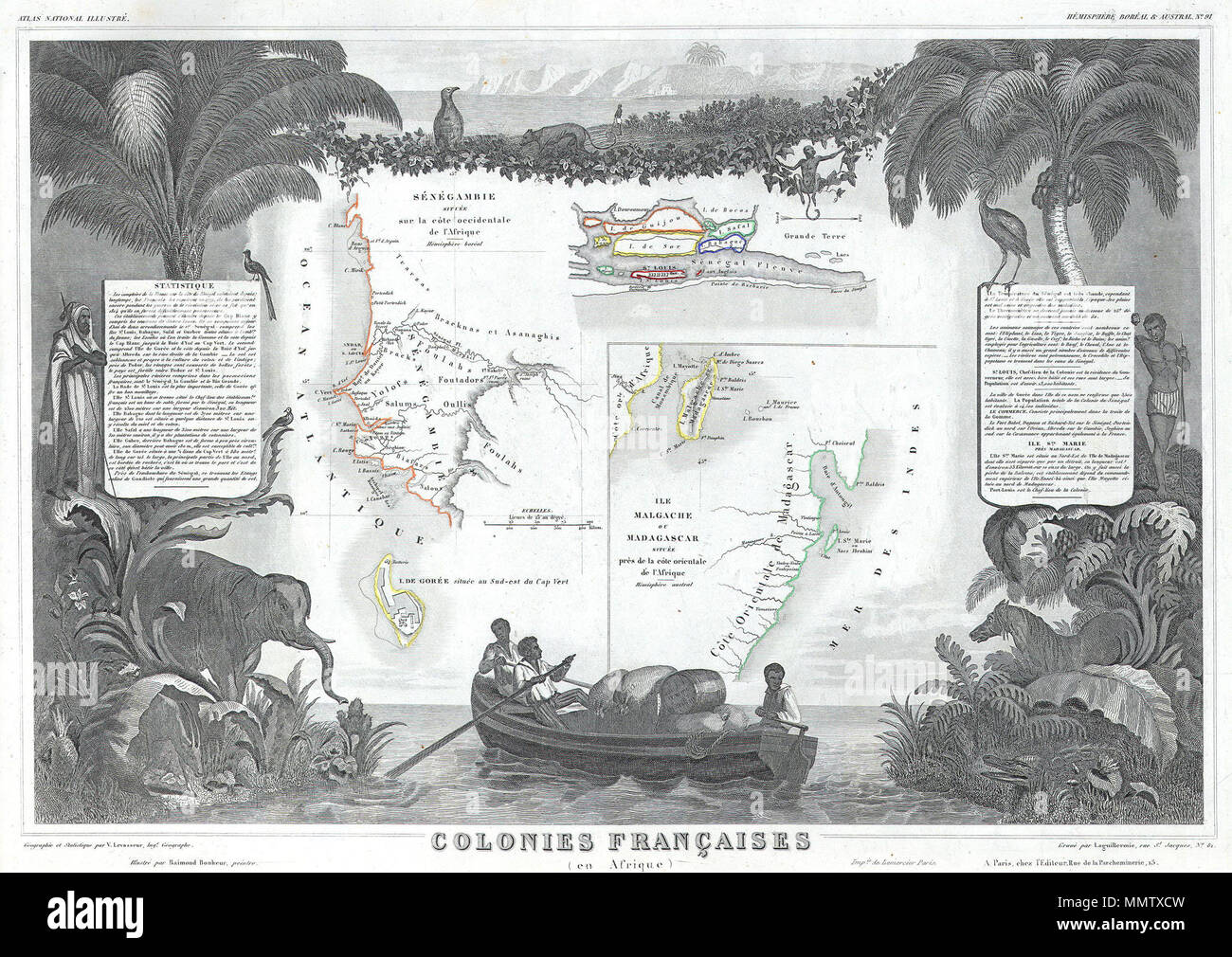 English: This is a fascinating 1847 map of the French ... on wind map of madagascar, agriculture map of madagascar, mineral map of madagascar, topographic map of madagascar, geography of madagascar, physical map of madagascar, natural resource map of madagascar,