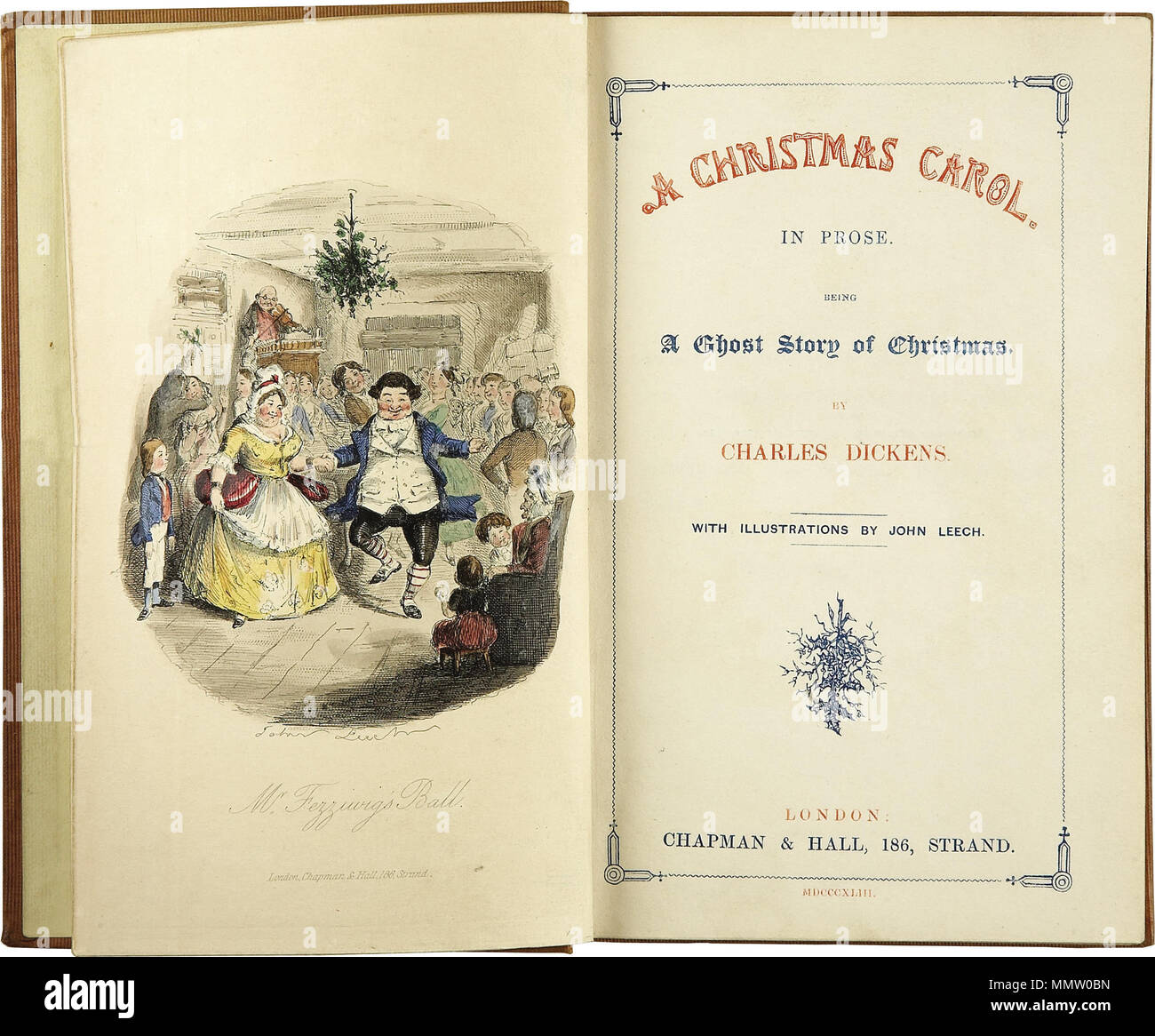 a christmas carol description