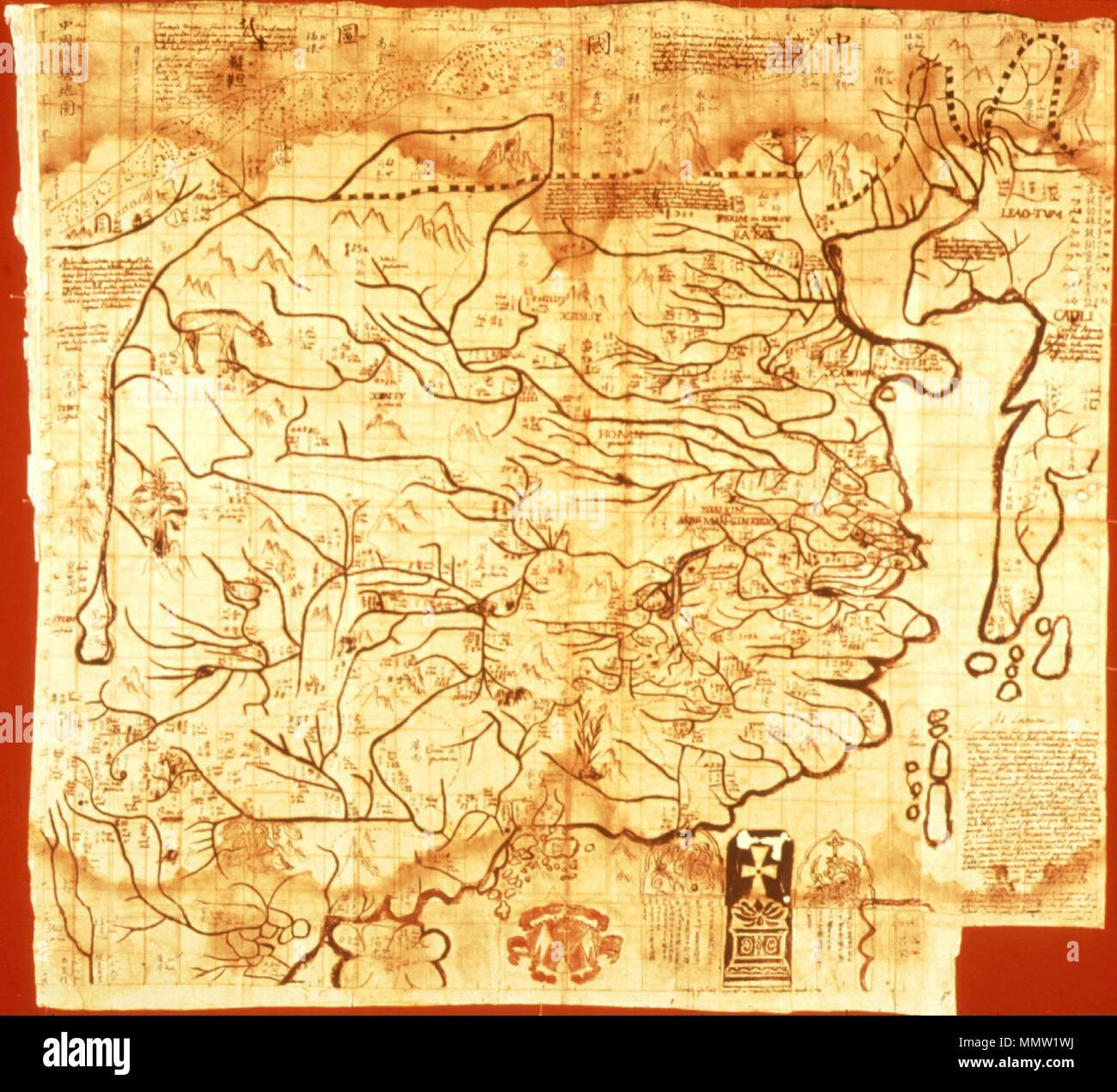 china karte deutsch Deutsch: Historische Karte von China English: Maps of Great Cathay