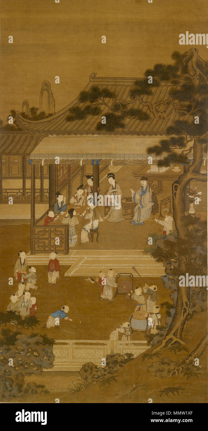 35.8 Anonymous (Chinese). \'Garden Recreations,\' 18th-19th century ...