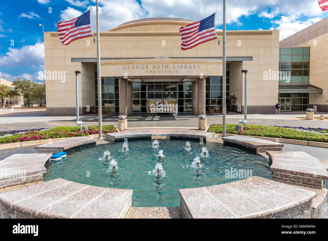 February 28 2018 College Station Texas George H W Bush