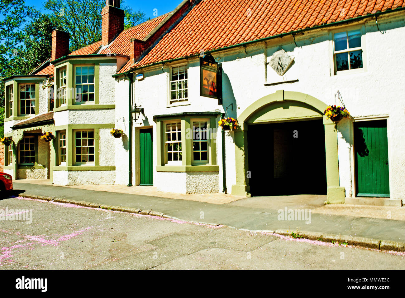 The Bay Horse, Hurworth on Tees, Darlington, County Durham - Stock Image