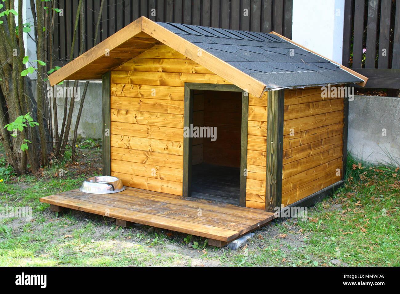 Dog Hut In The Garden