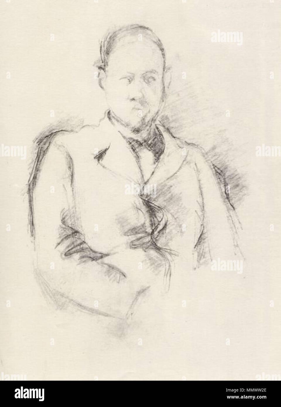 Cézanne,Porträt Vollard - Stock Image