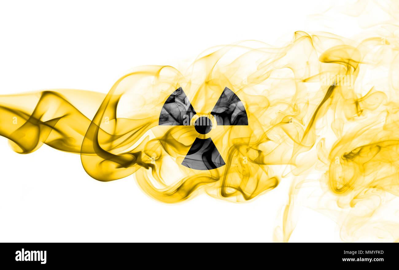 Nuclear smoke - Stock Image