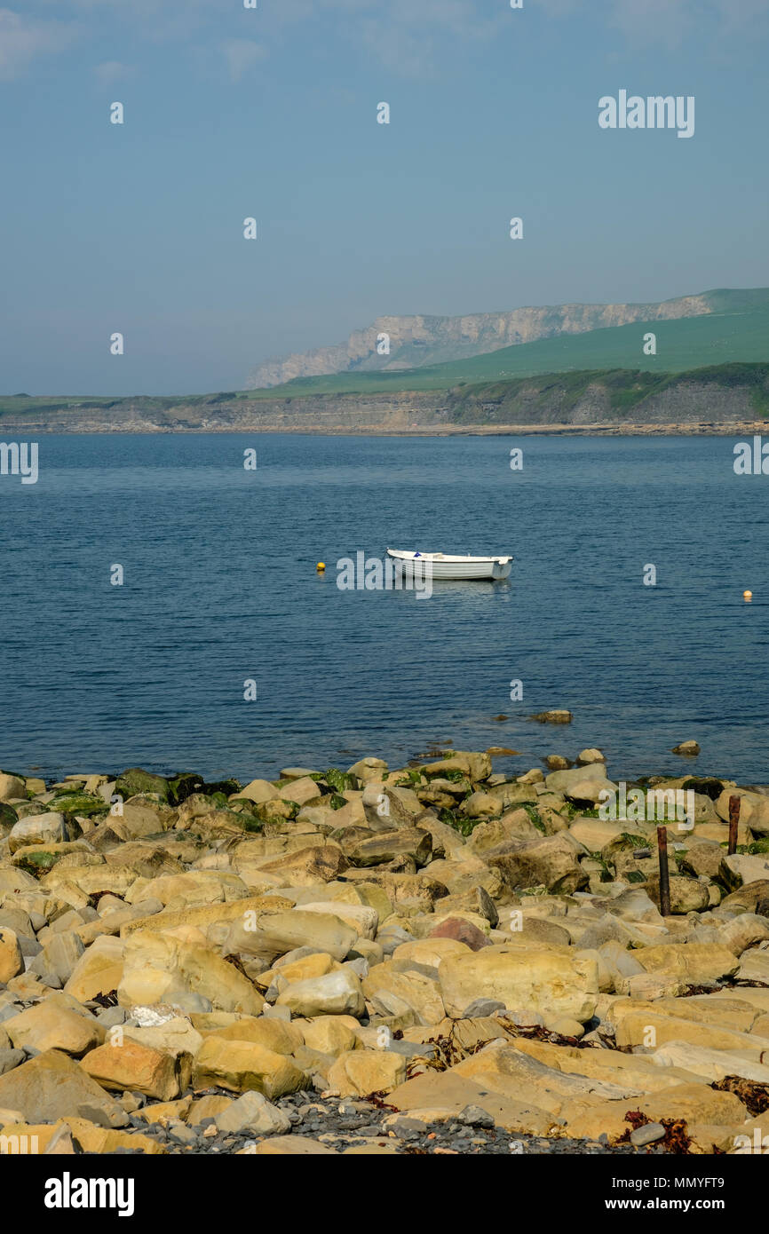 Kimmeridge Bay Kimmeridge Dorset England UK - Stock Image