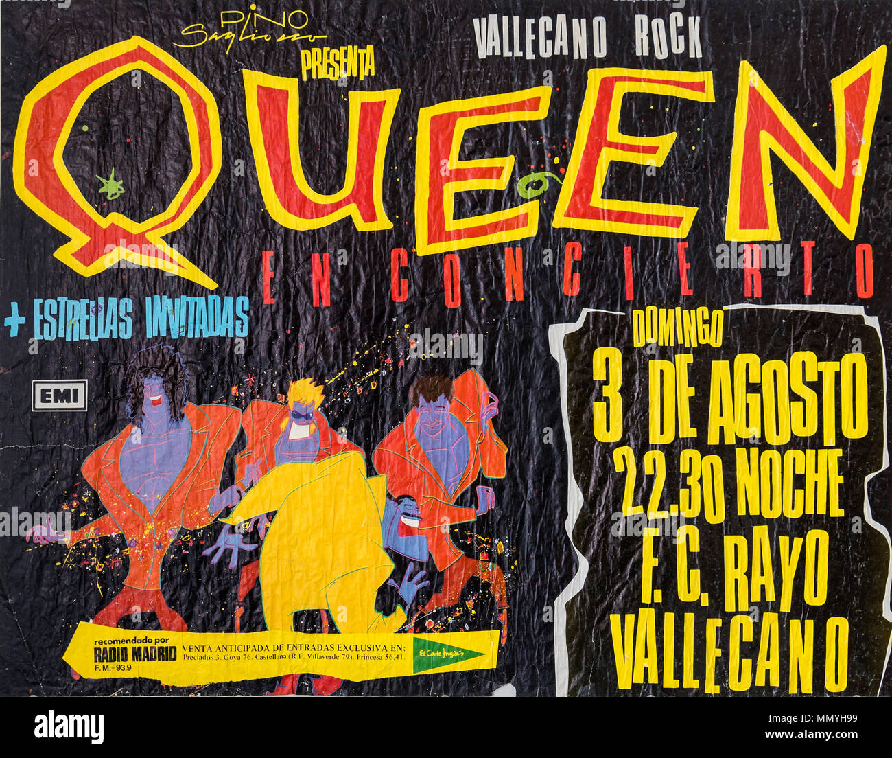 Queen in concert, The Magic Tour 1986, Musical concert ...