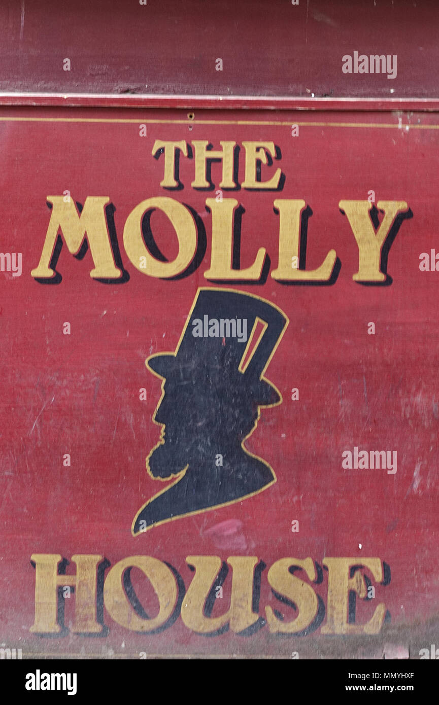 The Molly House, Manchester - Stock Image