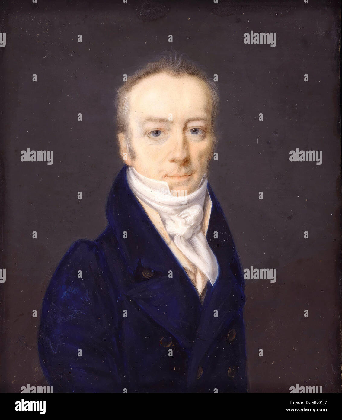 .  English: Portrait of James Smithson (ca. 1765-1829)  James Smithson. 1816. Henri-Joseph Johns - James Smithson (1816) - Google Art Project cropped - Stock Image