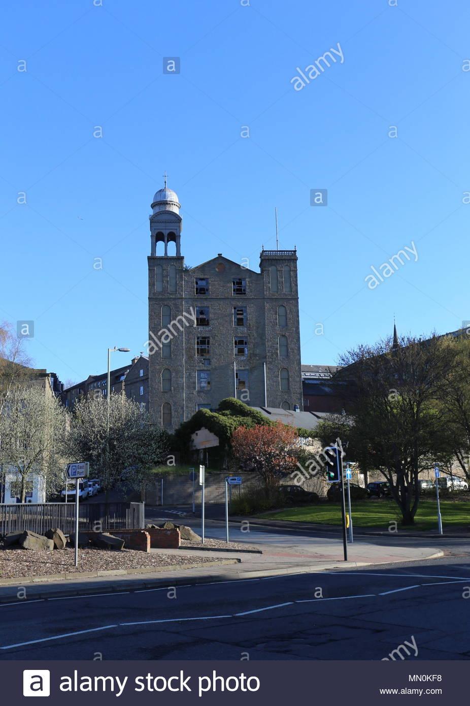 Former Baxter Brothers Mills Dundee Scotland  April 2016 Stock Photo