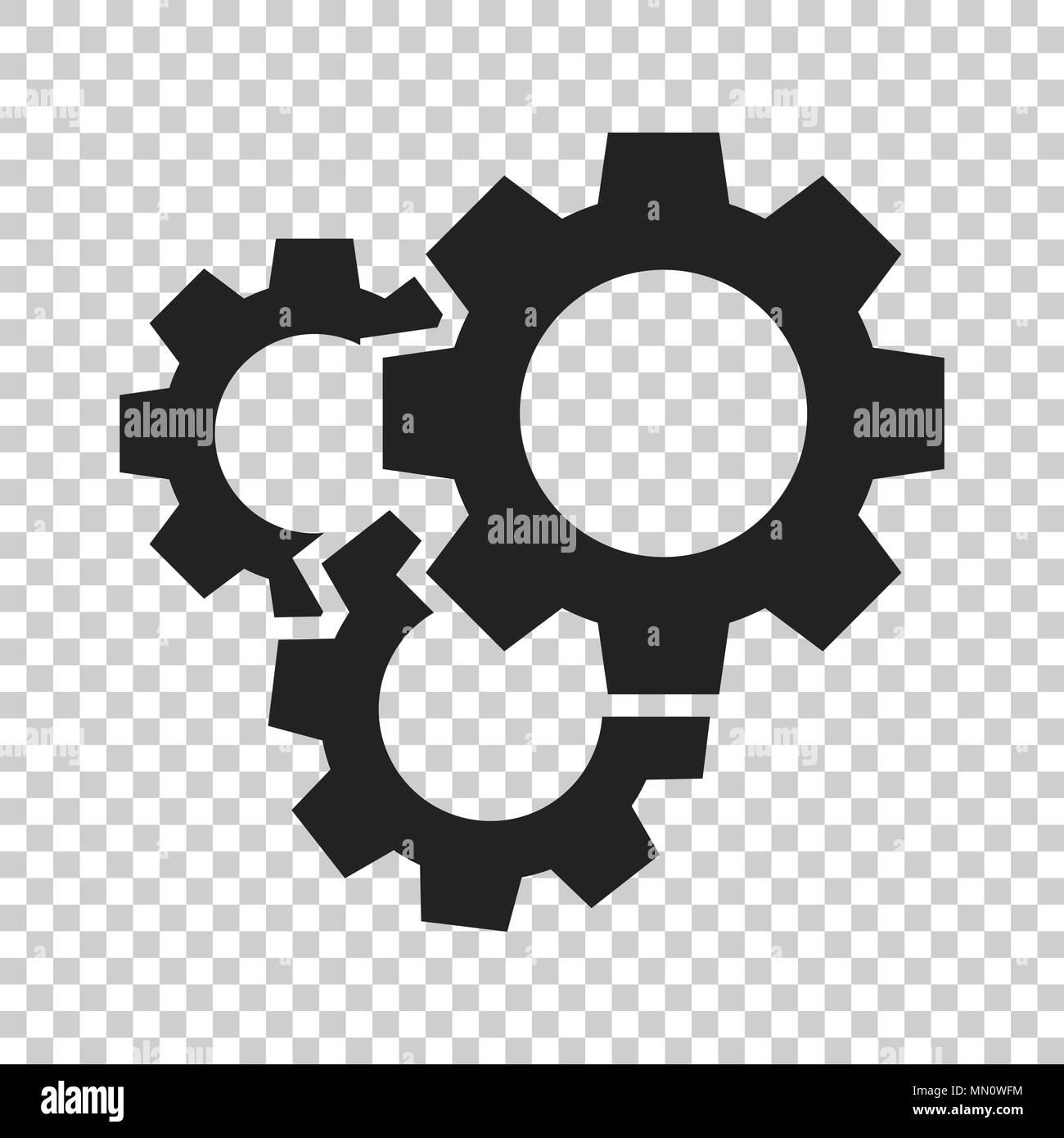 Gear vector icon