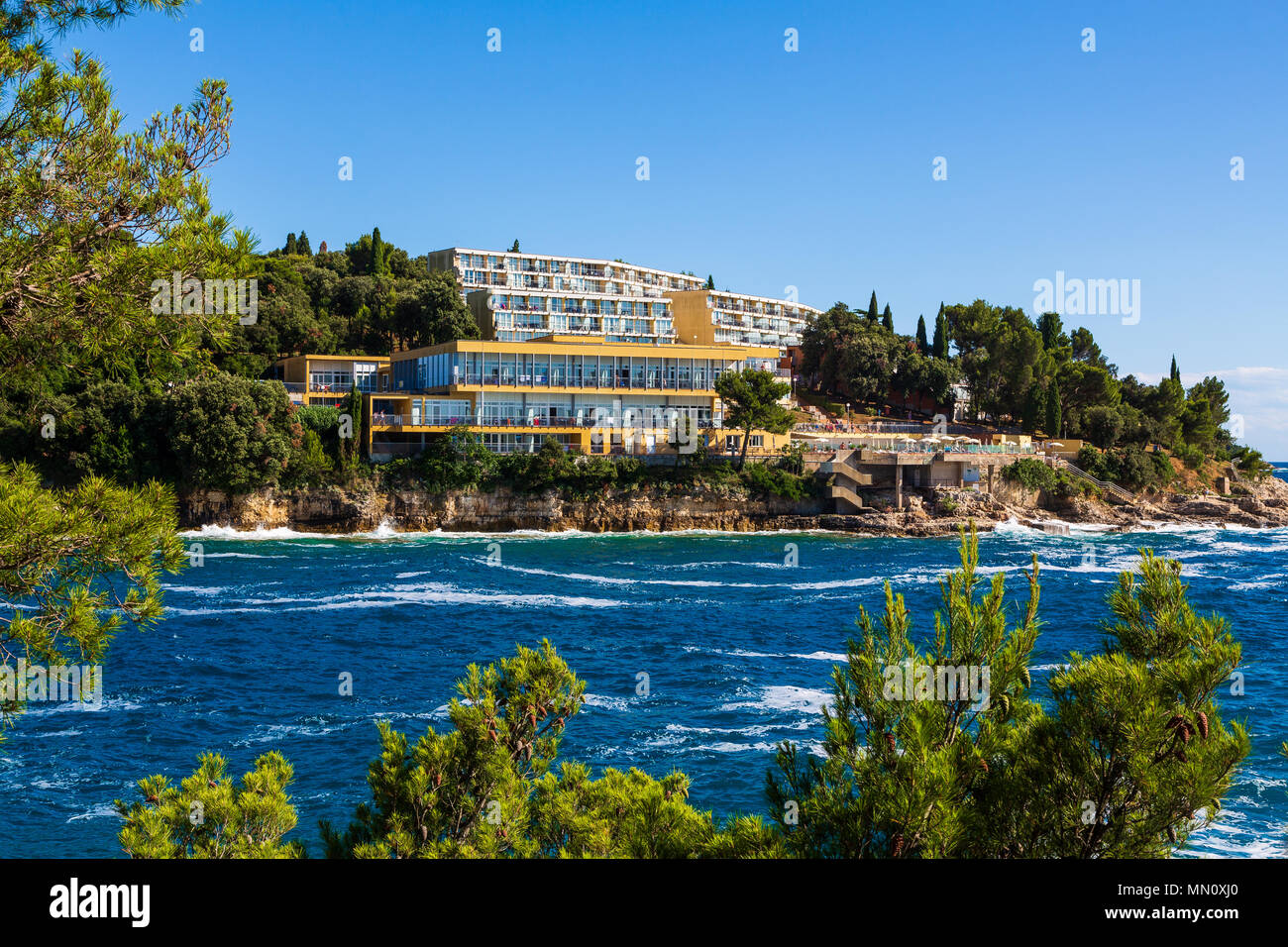 Splendid resort, Pula, Croatia - Stock Image