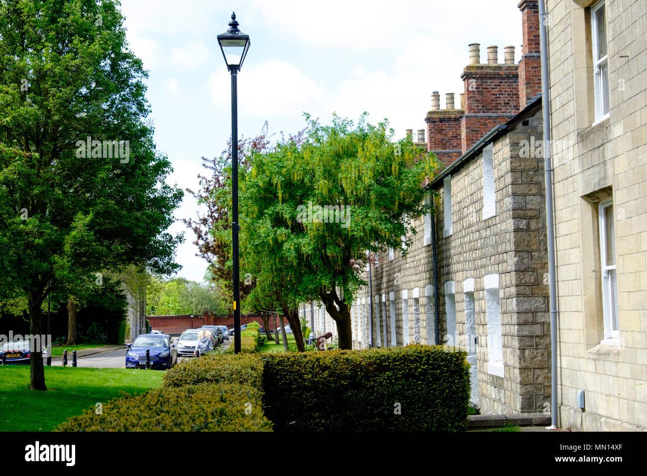 Railway Cottages Swindon Stock Photos & Railway Cottages