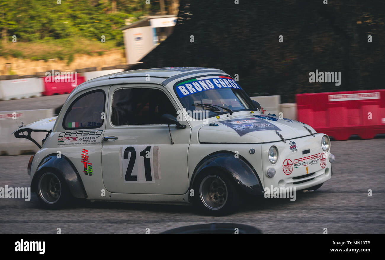 Rally Motor Credit >> Naples Campania Italy 11th May 2018 Racing Rally Cars During