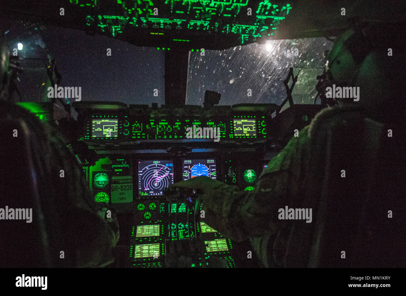 20533d18 U.S. Air Force Captains Sarah Radakovich and Eric De Gruchy, both pilots  assigned to the