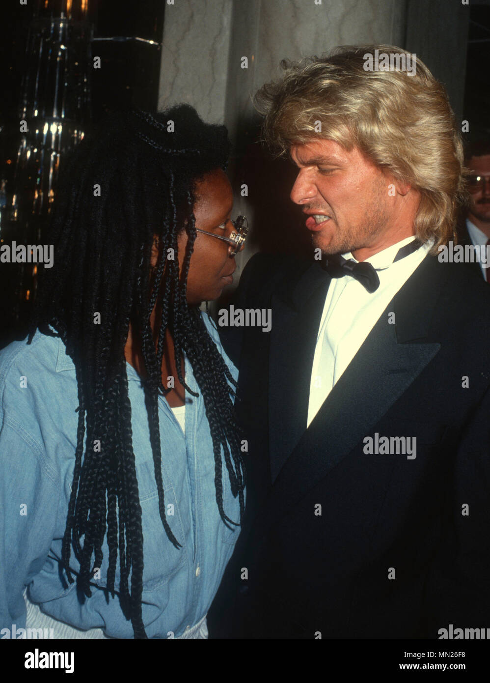 Los Angeles Ca July 21 L R Actress Whoopi Goldberg