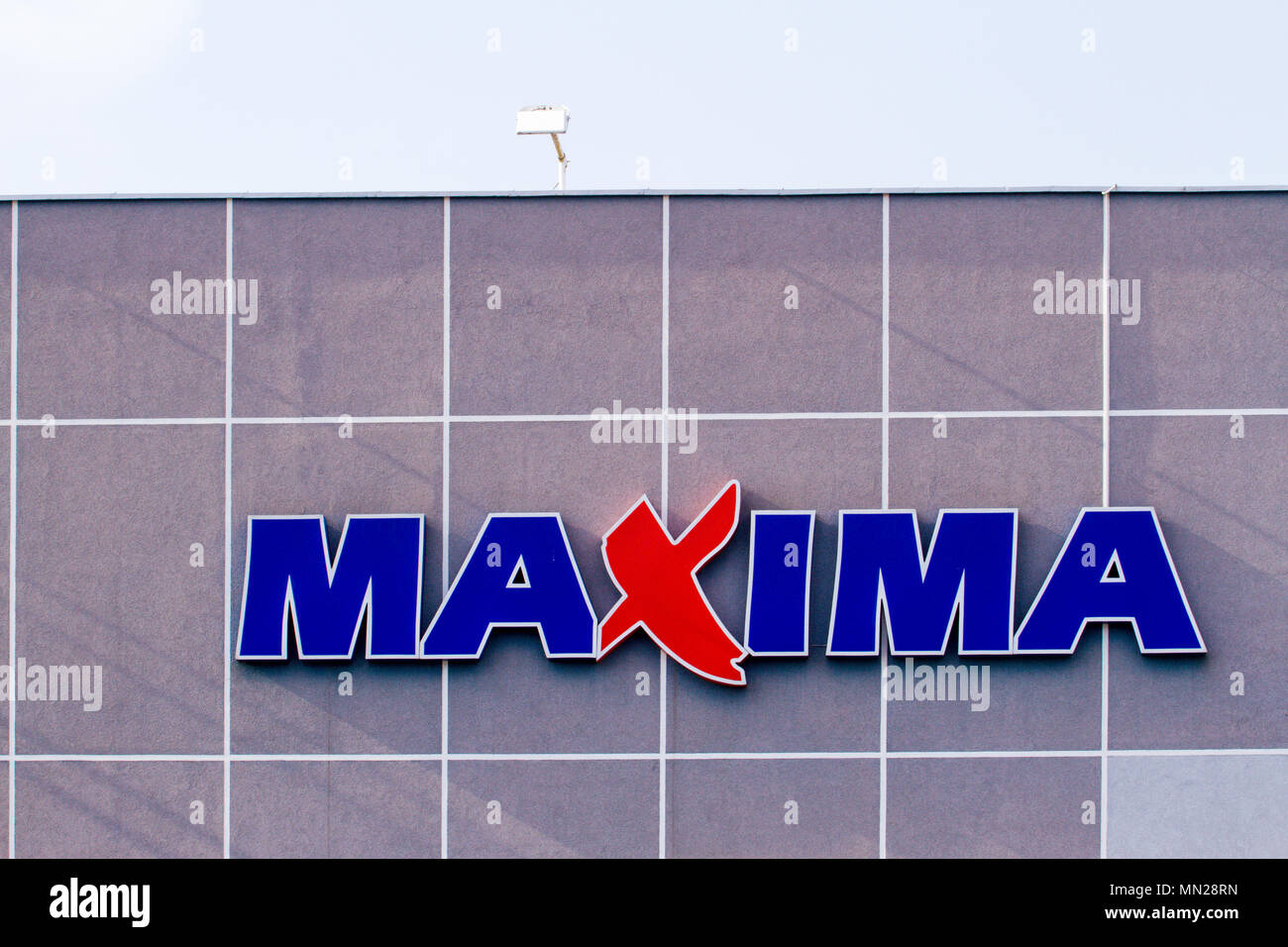 MAXIMA store logo  Maxima is a retail chain operating food