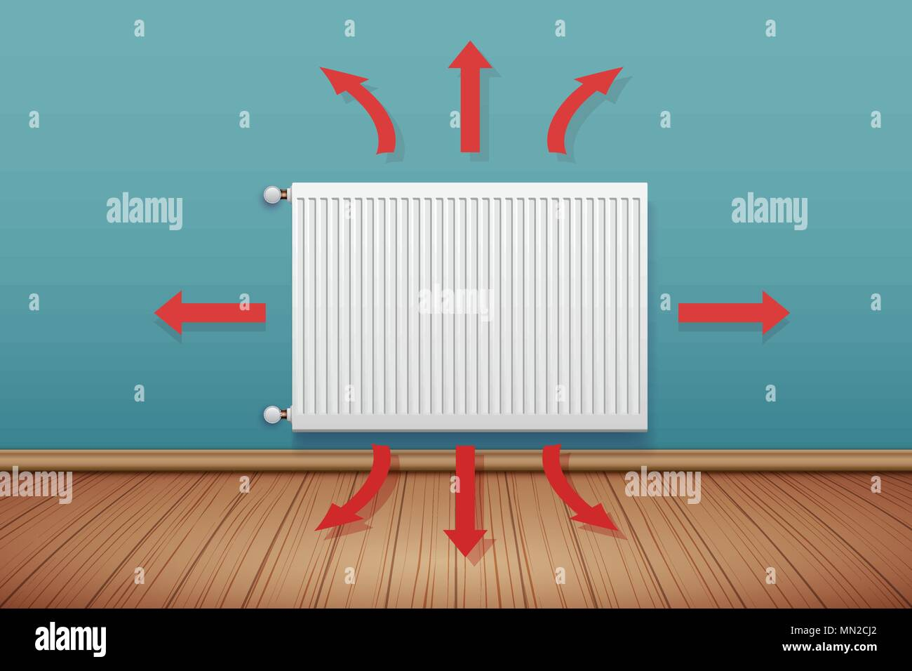 Central Heating Stock Vector Images - Alamy