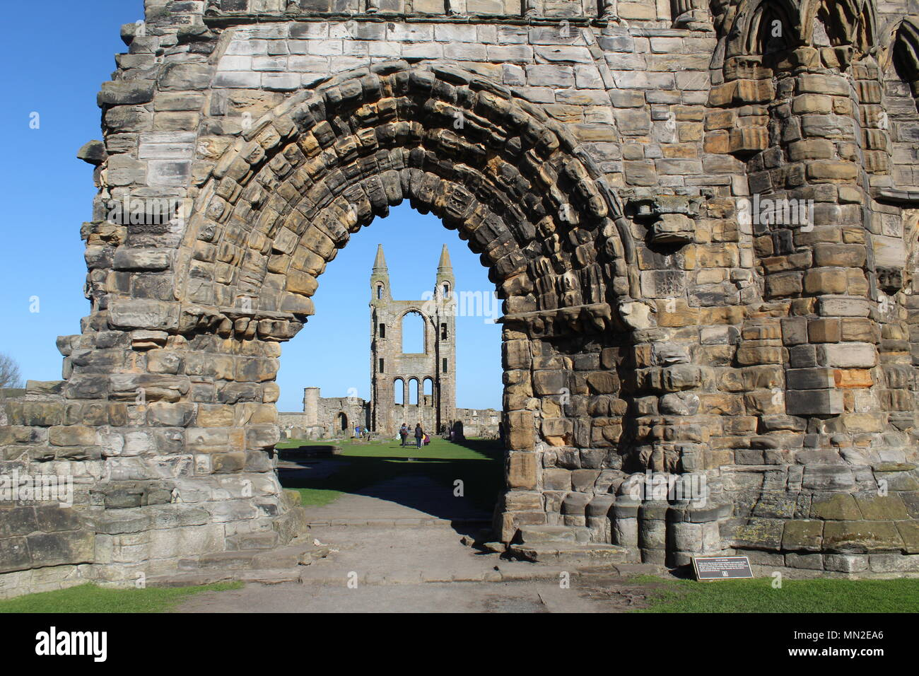 St. Andrews Cathedral, Scotland - Stock Image
