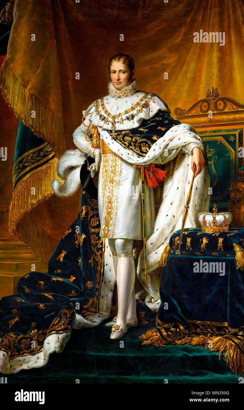 Joseph Bonaparte as King of Spain, Francois Gerard, circa 1808 - Stock Image