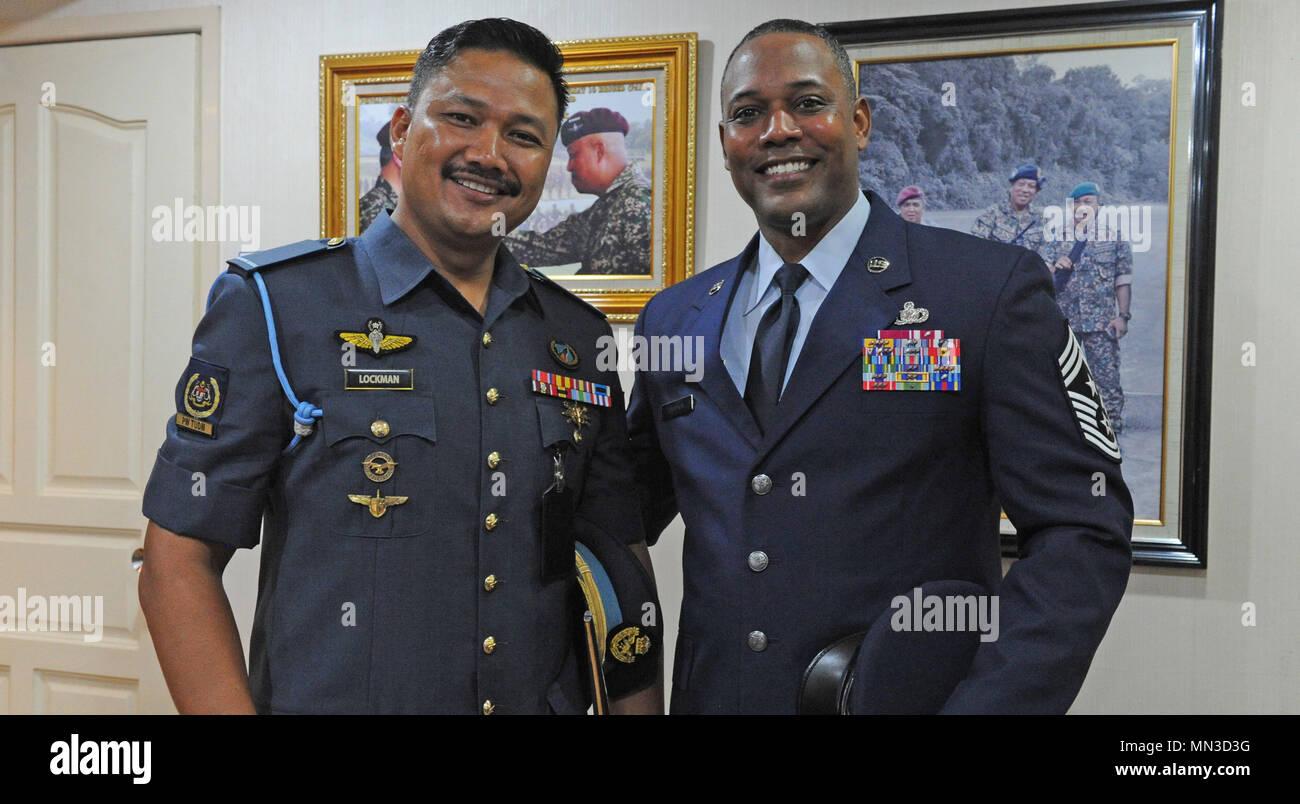 U.S. Air Force Chief Master Sgt. Anthony Johnson, Pacific