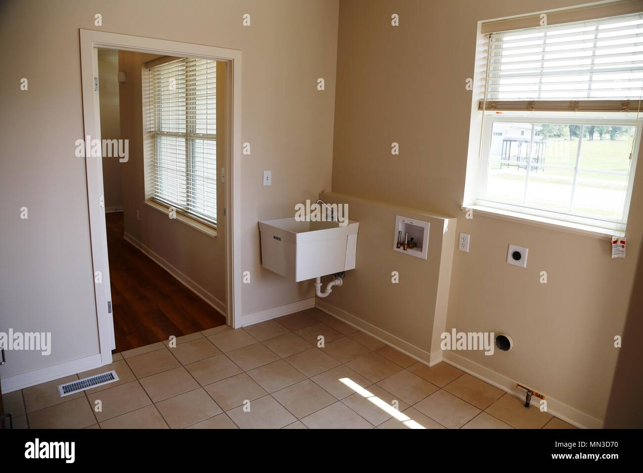 A Room Inside One Of 56 New Homes Built For South Post Housing At Fort Mccoy