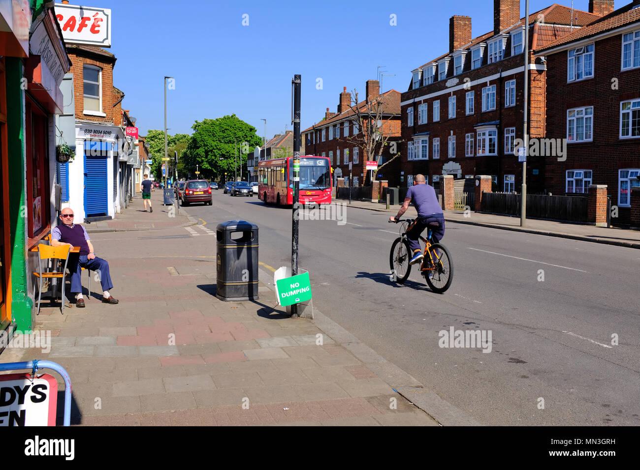 Garratt Lane Tooting London SW17 - Stock Image