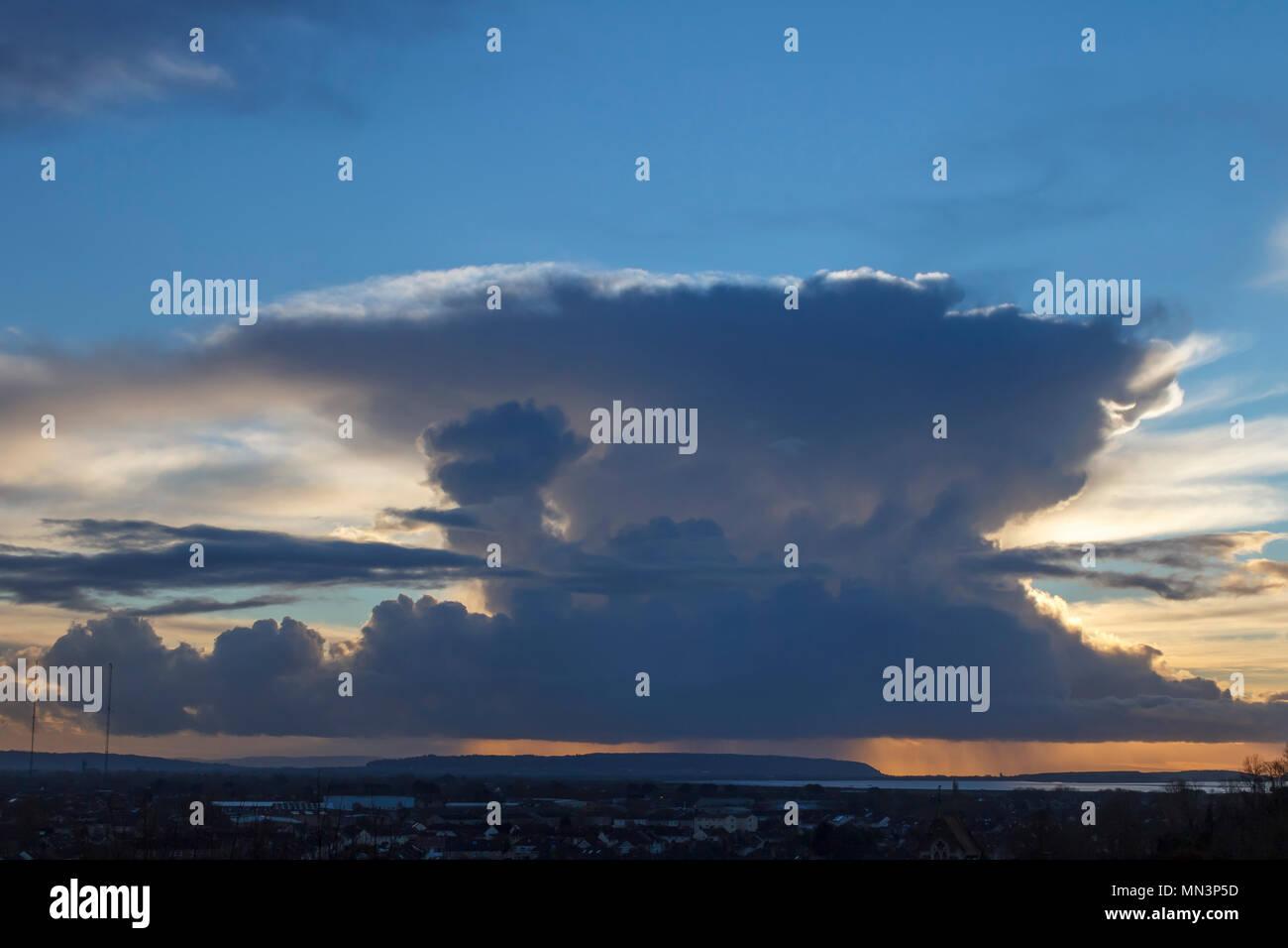 Cumulonimbus Formation - Stock Image
