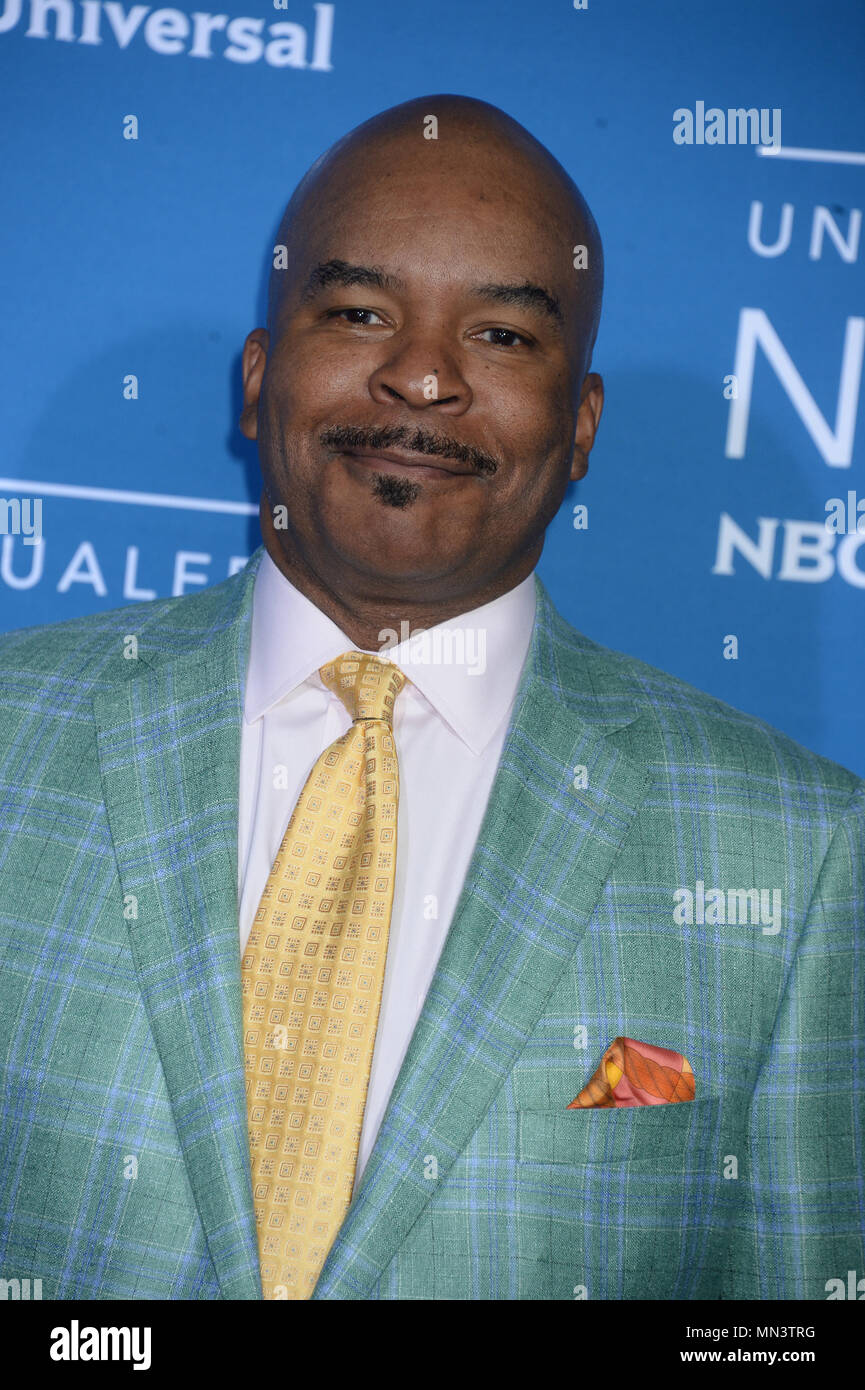 NEW YORK, NY - MAY 15: David Alan Grier attends the 2017 NBCUniversal Upfront at Radio City Music Hall on May 15, 2017 in New York City.   People:  David Alan Grier - Stock Image