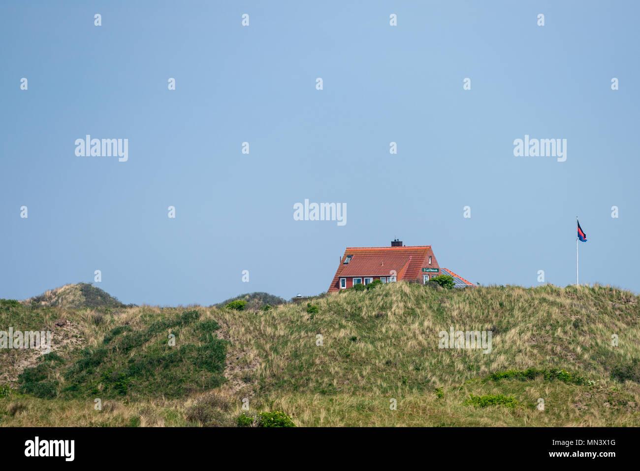 Island of Juist Germany. Insel Juist - Wattenmeer der Nordsee. - Stock Image
