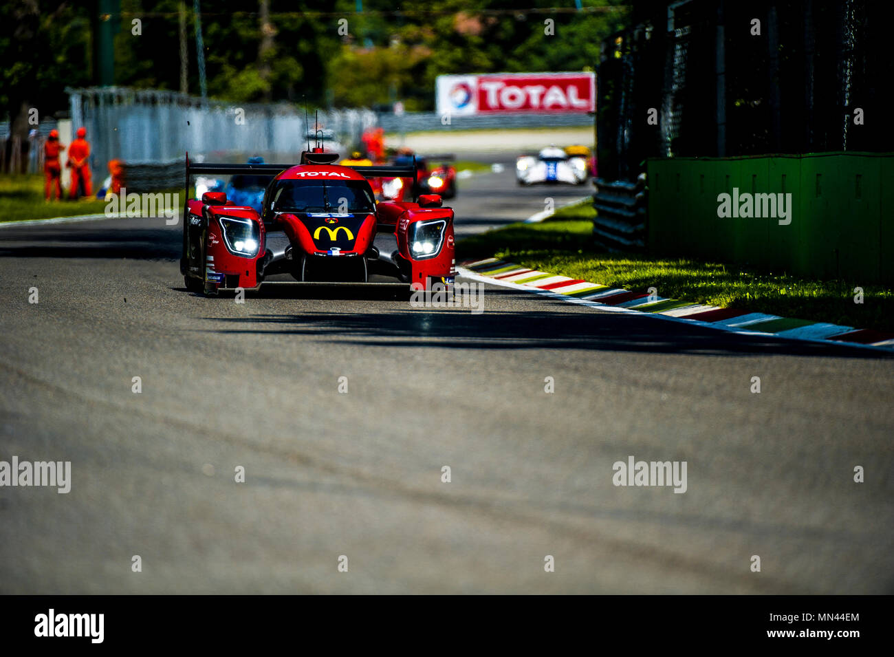 EUROPEAN LE MANS SERIES 2018 SECOND ROUND MONZA Stock Photo