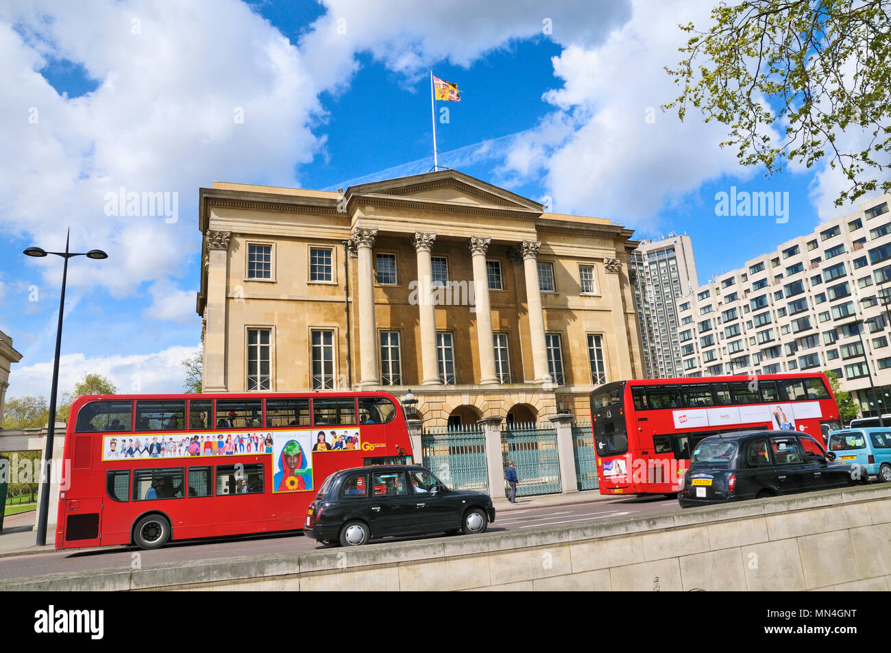 Apsley House, 149 Piccadilly, Hyde Park Corner, Westminster, London, England, UK - Stock Image