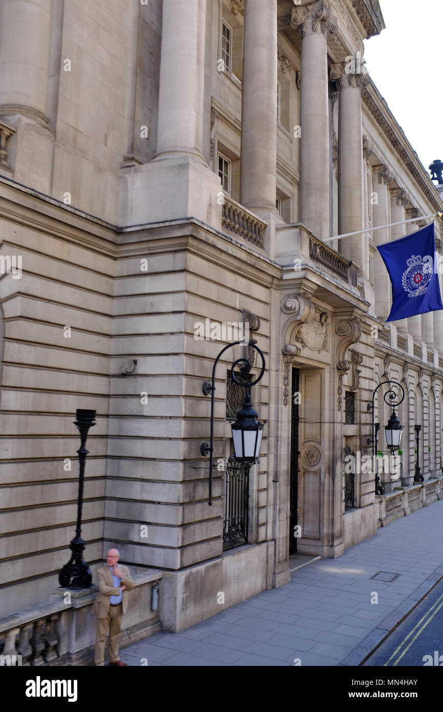 The Royal Automobile Club, Pall Mall, London, UK - Stock Image