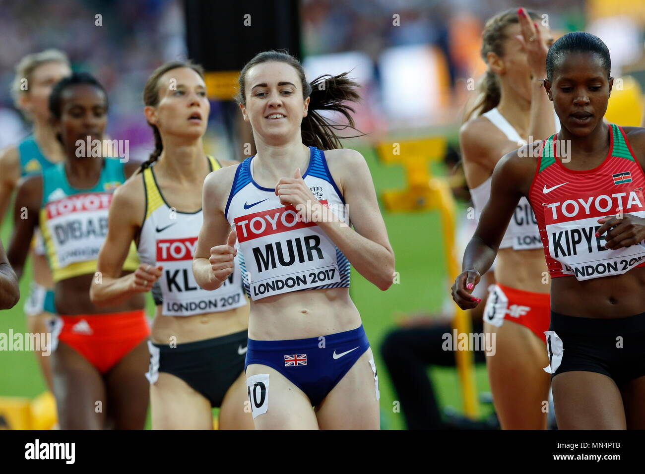 LONDON, ENGLAND - AUGUST 05: during day two of the 16th IAAF World Athletics Championships London 2017 at The London Stadium on August 5, 2017 in London, United Kingdom.  --- Image by © Paul Cunningham - Stock Image