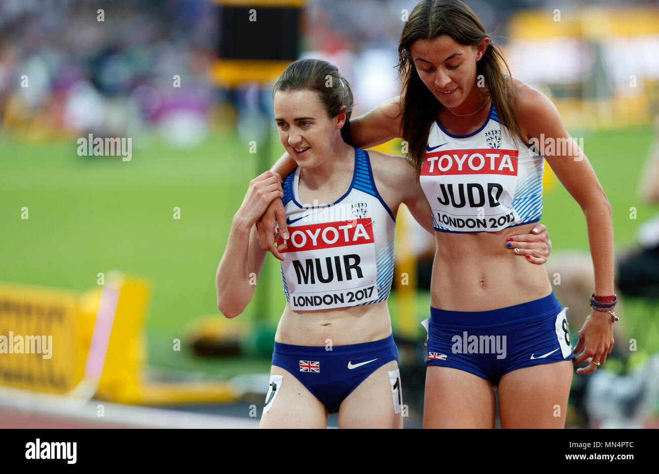 LONDON, ENGLAND - AUGUST 05: during day two of the 16th IAAF World Athletics Championships London 2017 at The London Stadium on August 5, 2017 in London, United Kingdom.  --- Image by © Paul Cunningham Stock Photo