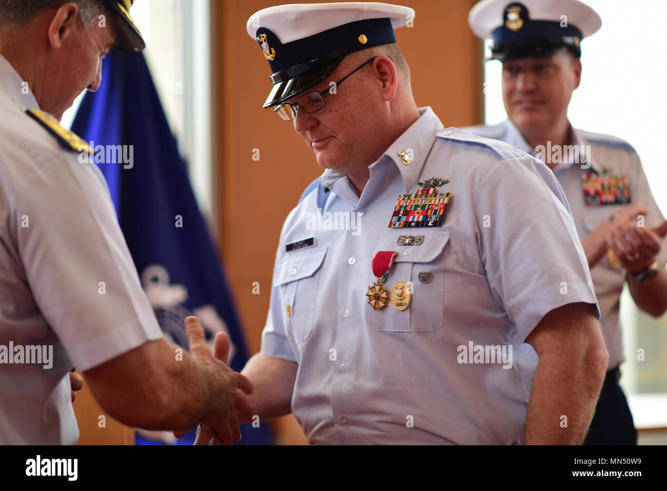 """Master Chief Petty Officer Charles """"Rob"""" Bushey is"""