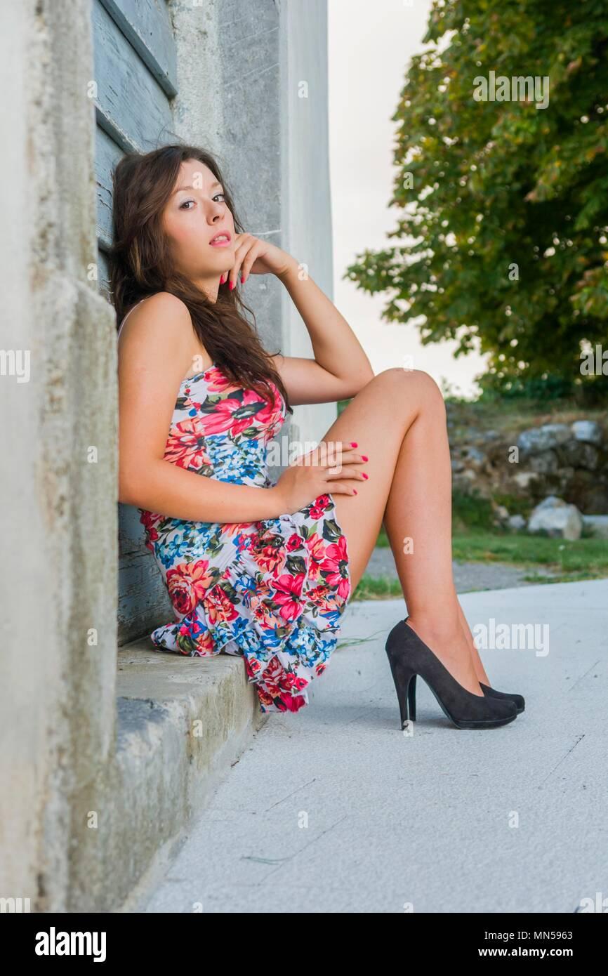 Teen In Heels