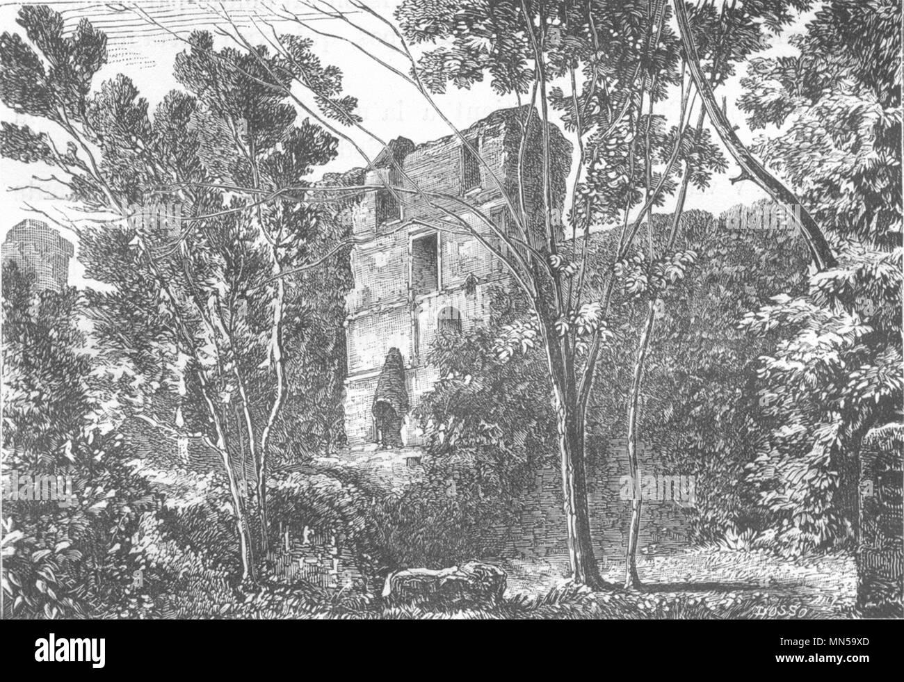 https://c8.alamy.com/comp/MN59XD/loire-atlantique-clisson-interieur-du-donjon-1880-old-print-picture-MN59XD.jpg