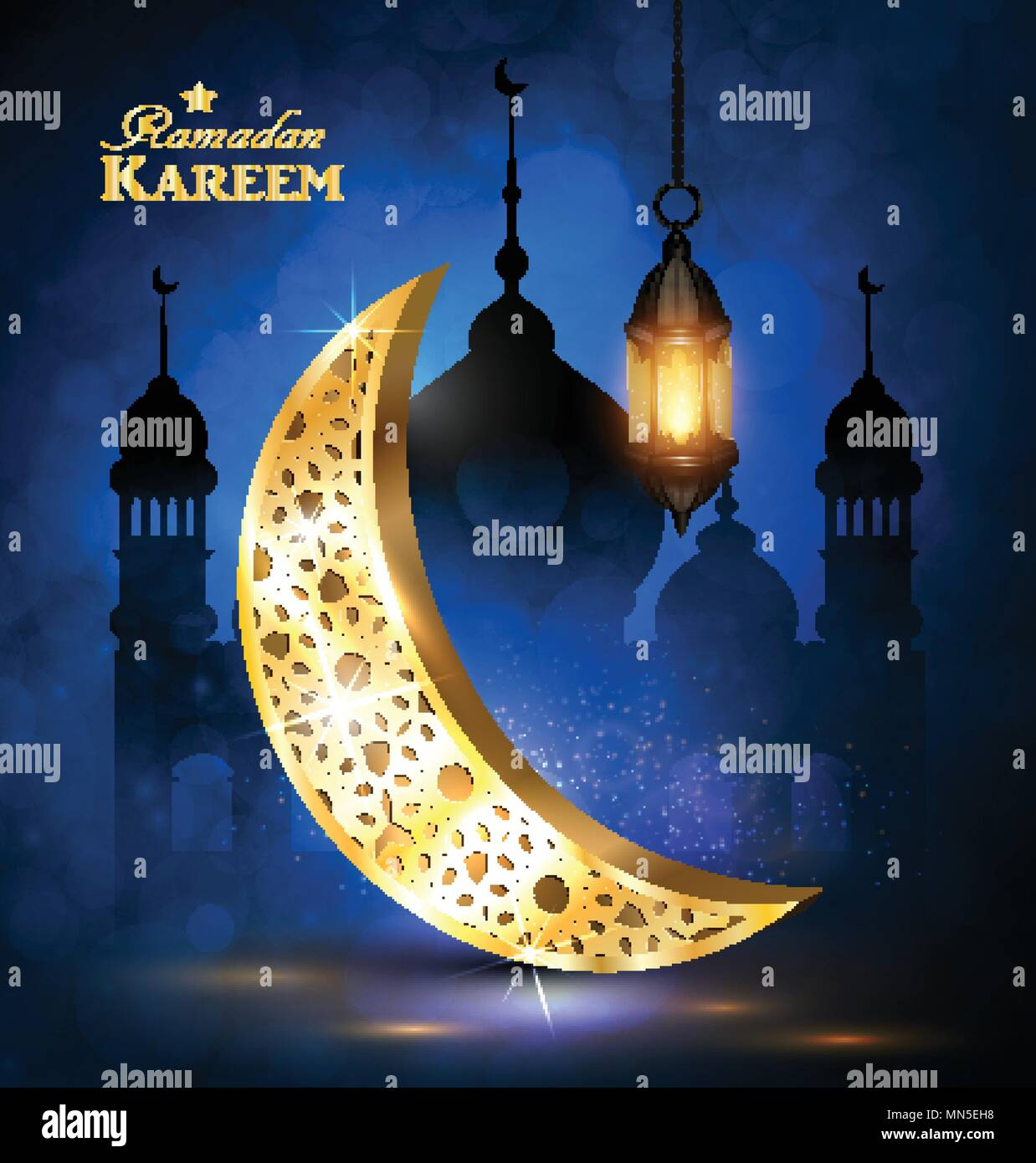 Ramadan Greetings Vector Stock Vector Art Illustration Vector