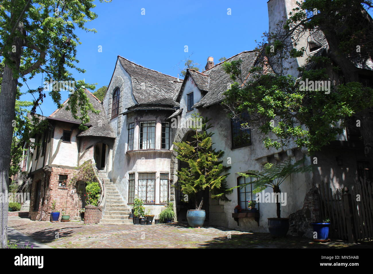 Normandy Village Northside Berkeley California Stock Photo Alamy