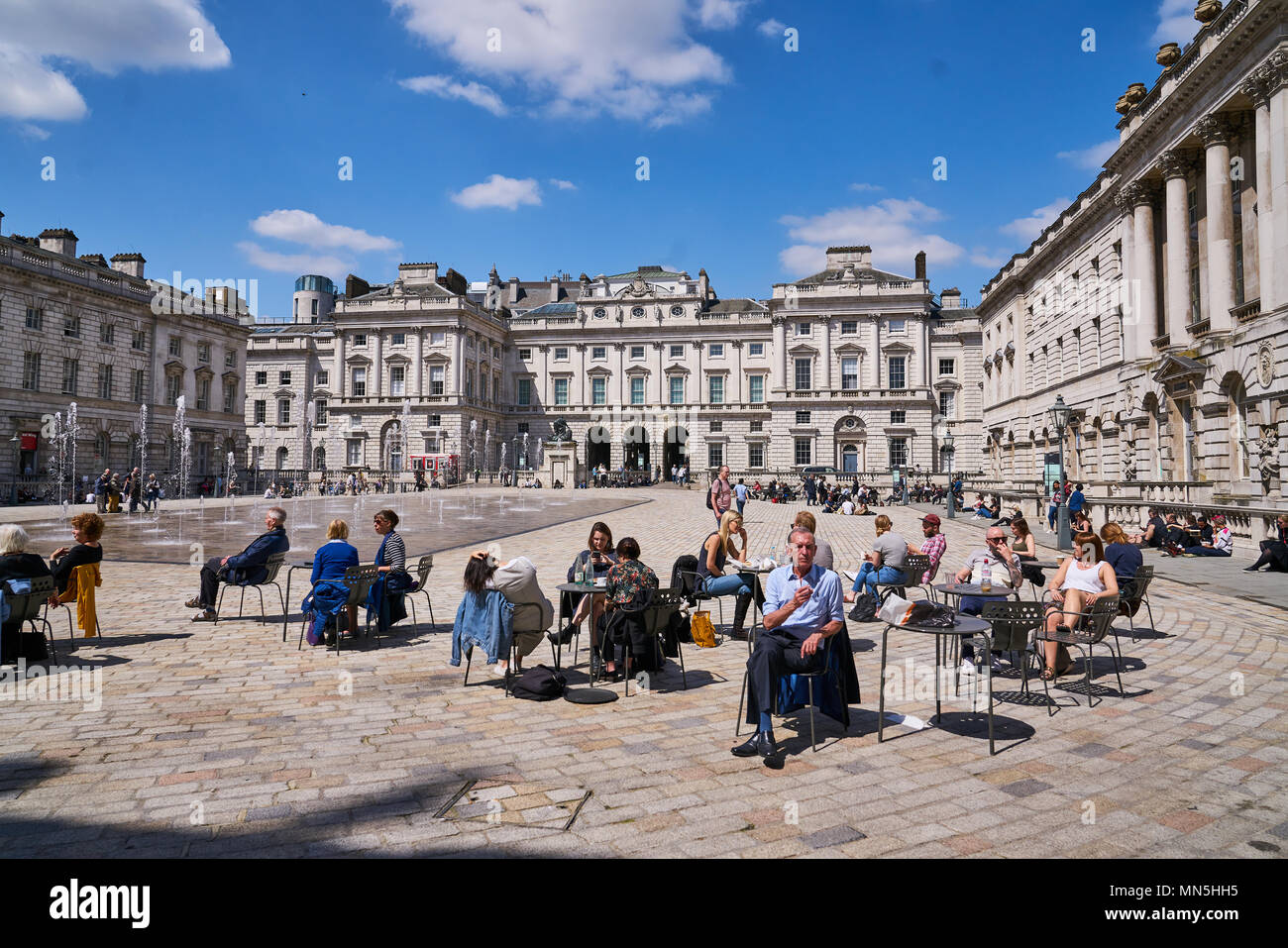 London fountains - Stock Image