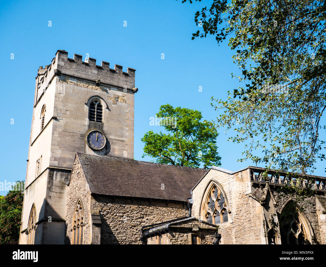 St Michael at the North Gate, Oxford, Oxfordshire, England, UK, GB. - Stock Image