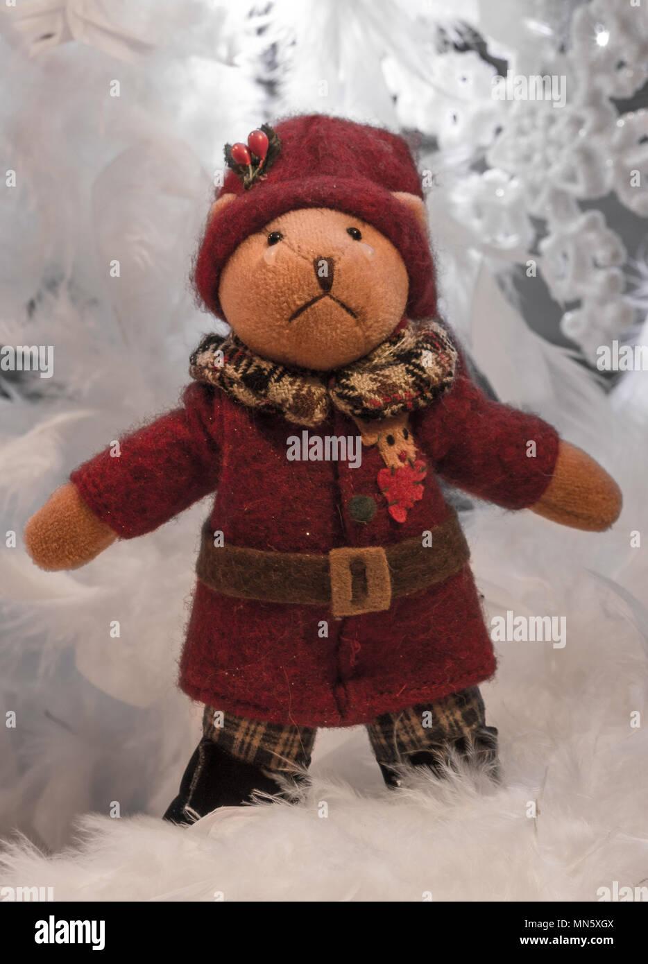 Sad Christmas tedding - Stock Image