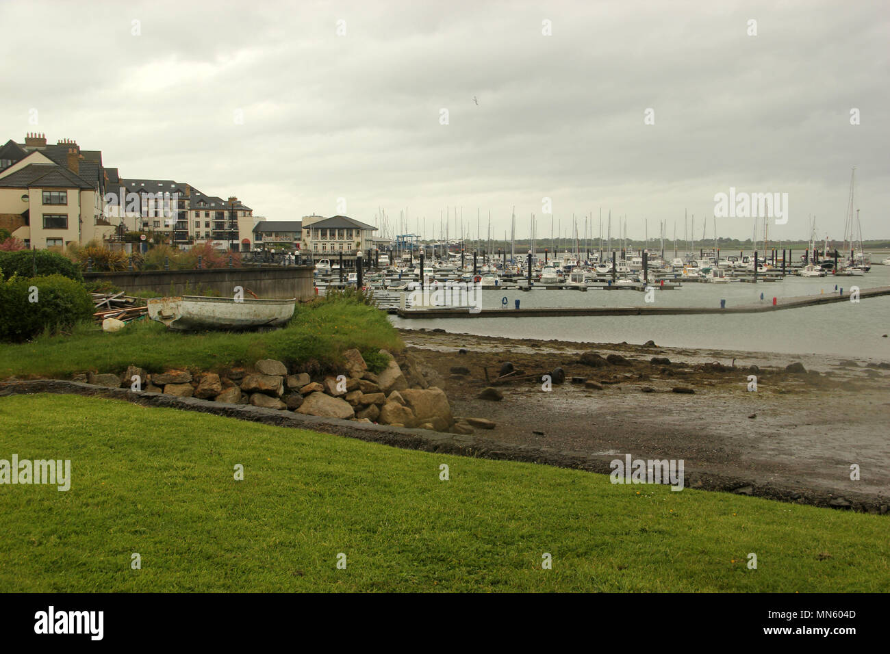 Malahide Harbour, Co. Dublin, Ireland - Stock Image