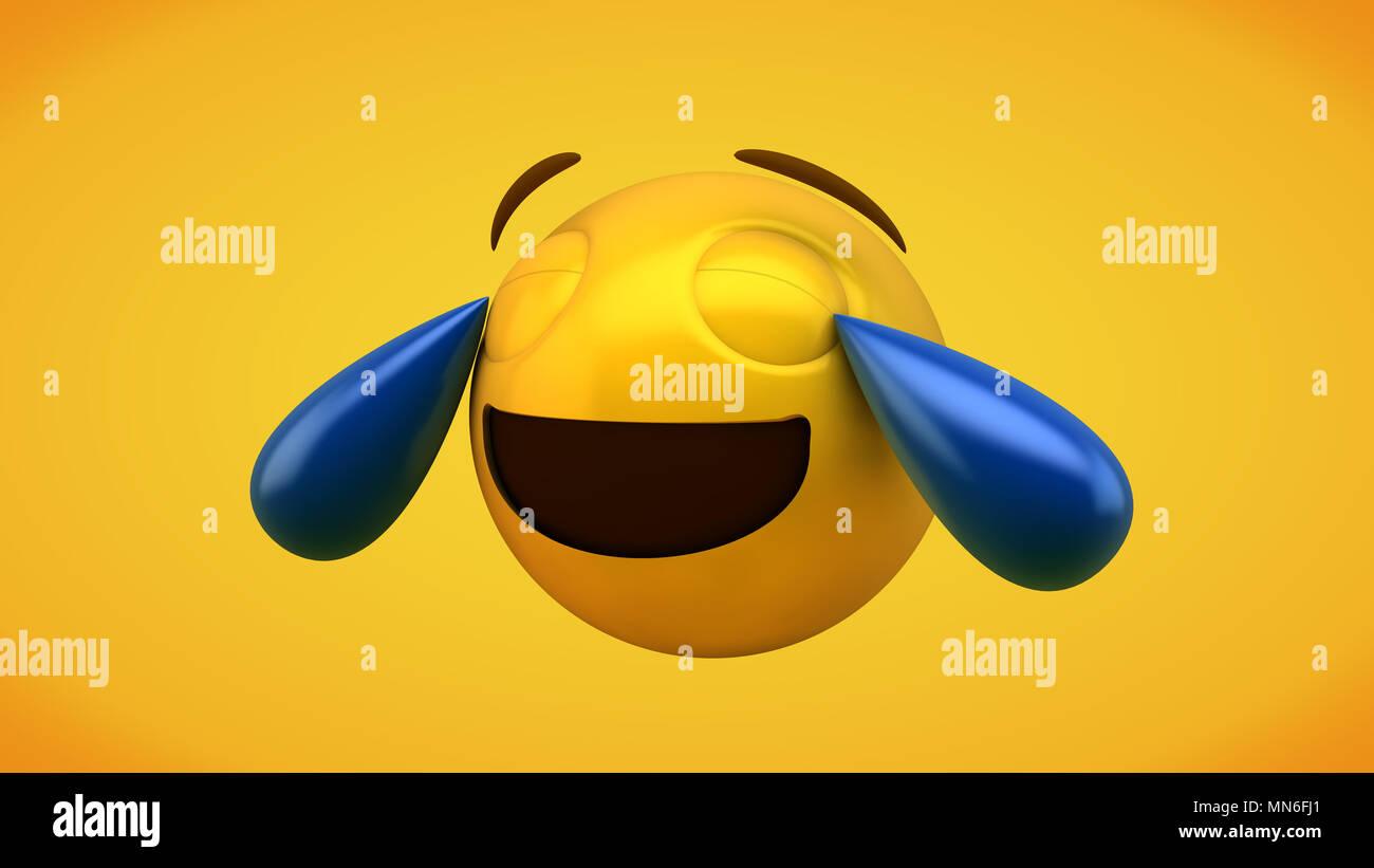 Laughing Emoji Stock Photos & Laughing Emoji Stock Images