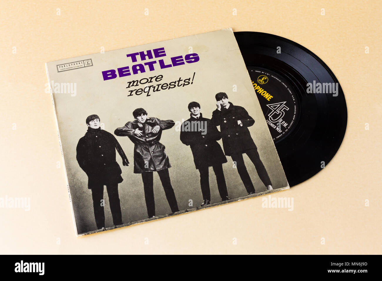 records vinyl beatles stock photos records vinyl beatles stock images alamy. Black Bedroom Furniture Sets. Home Design Ideas